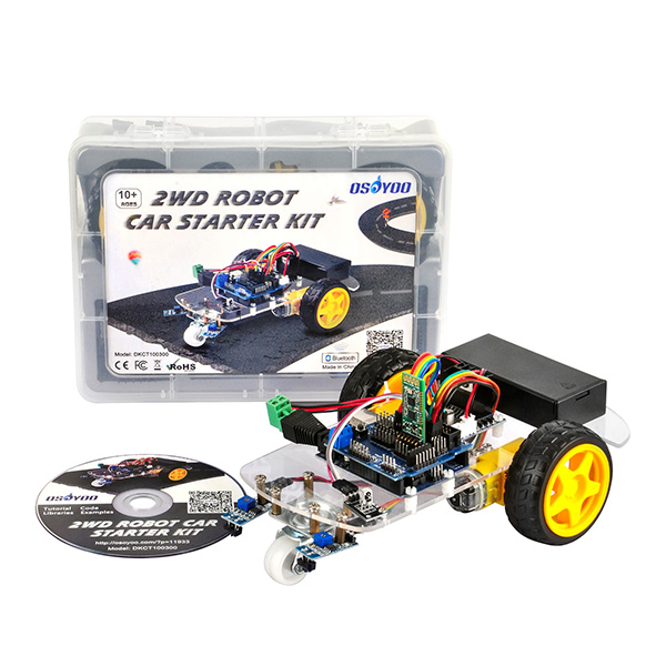 OSOYOO 2WD Robot Car Starter Kit Tutorial: Introduction