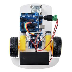 三轮小车第一课:底盘安装及电机控制