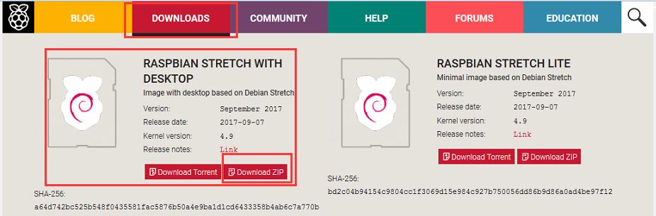 Raspberry pi zero/w Basic Kit lesson 1: Install OS Raspbian in