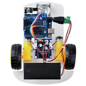 OSOYOO 2WD Robot Car Starter Kit Lesson 2: IR Control of the Robot Car