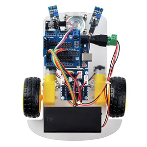 OSOYOO 2WD Robot Car Starter Kit Lesson 3: Line Tracking of the Robot Car