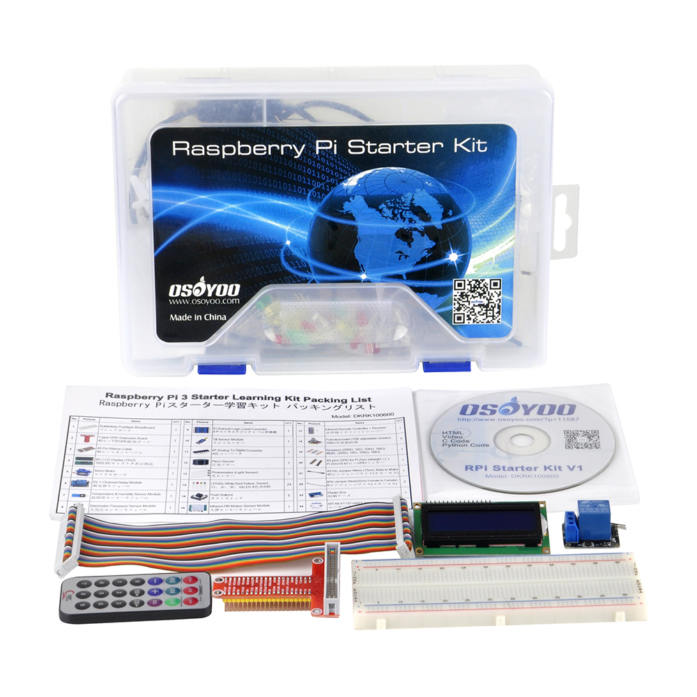 Raspberry Pi Starter Kit V1: Introduction