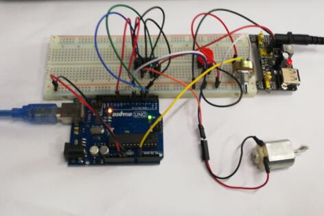 Arduino lesson – L293D With DC Motor « osoyoo.com on