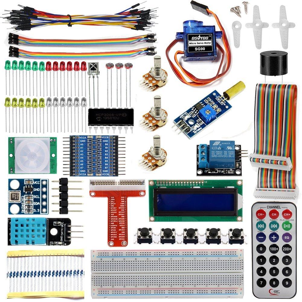 Raspberry Pi Starter Kit V1: Introduction « osoyoo com