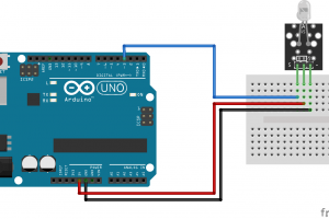 Arduino lesson – Infrared Transmitting Module and Infrared Receiving Module