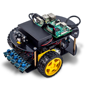 Raspberry Pi Robot Car DIY Learning Kit Lesson 1: Basic Framework Installation