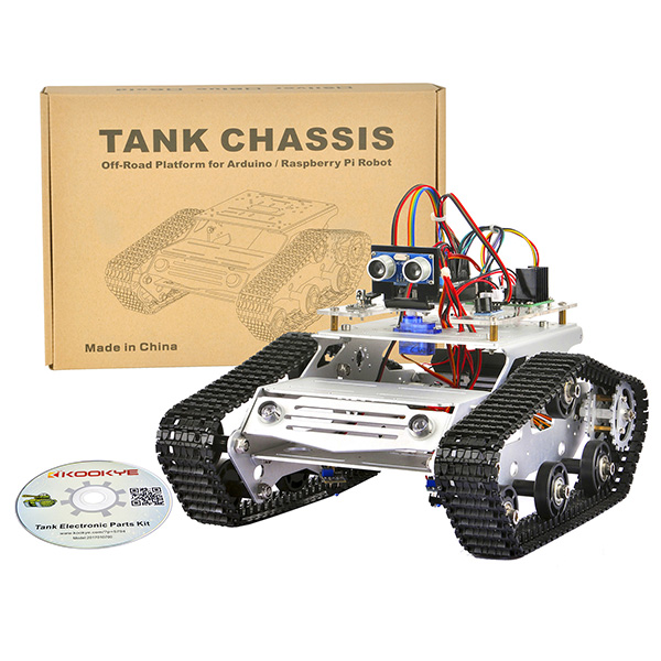 Robot Tank Car Starter Kit Tutorial: Introduction