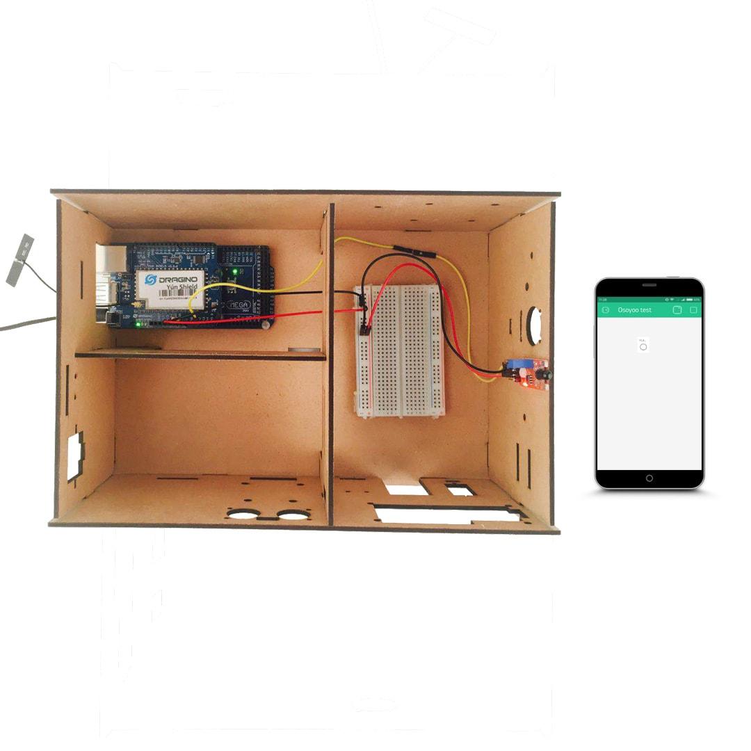 Osoyoo Yun IoT Lesson 11 – Flame Sensor