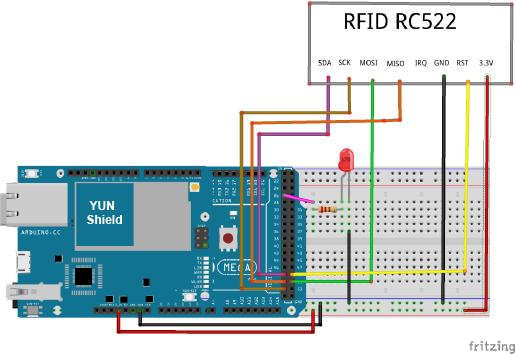 Osoyoo Yun IoT Lesson 18 – RFID RC522 « osoyoo com