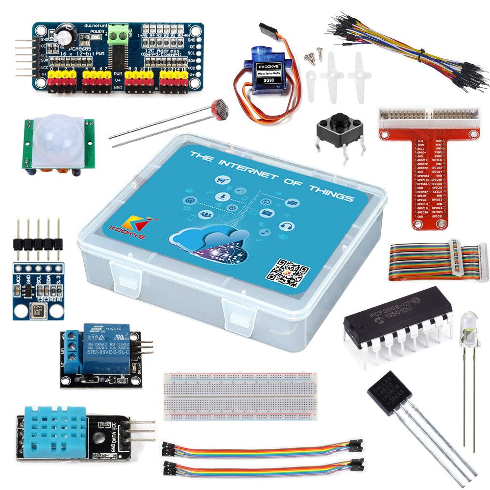 Internet of Things (IoT) Starter Kit for Raspberry Pi