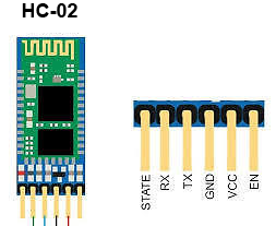 HC-02 Bluetooth 4.0 BLE Slave Module to UART Transceiver Arduino Compatible with Android and iOS