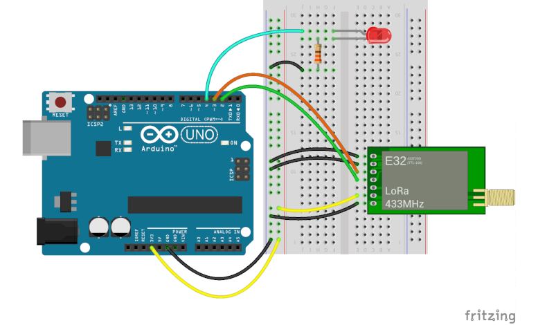 Osoyoo LoRa Tutorial -- How to Use the Uart LoRa Module with Arduino