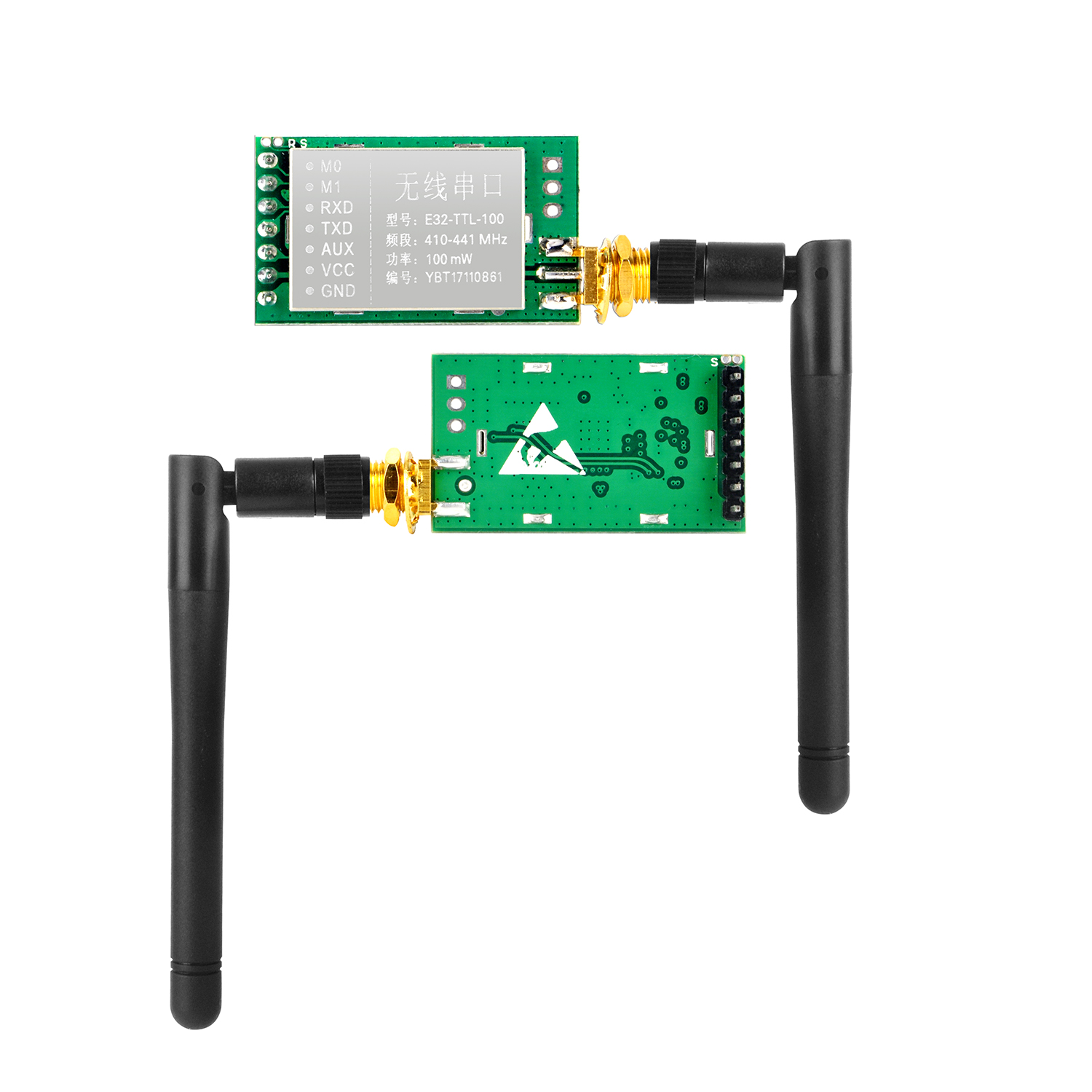 Osoyoo SX1278 LoRa Wireless Uart Module with Antenna - 433MHZ