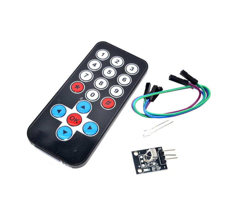 Arduino lesson – IR Remote Receiver Module and Controller