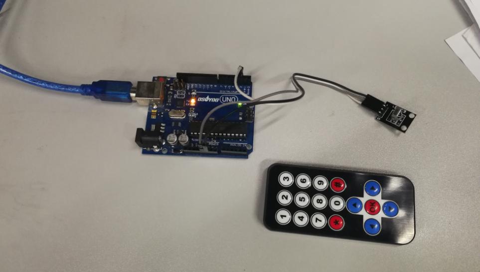 Arduino lesson – IR Remote Receiver Module and Controller « osoyoo com