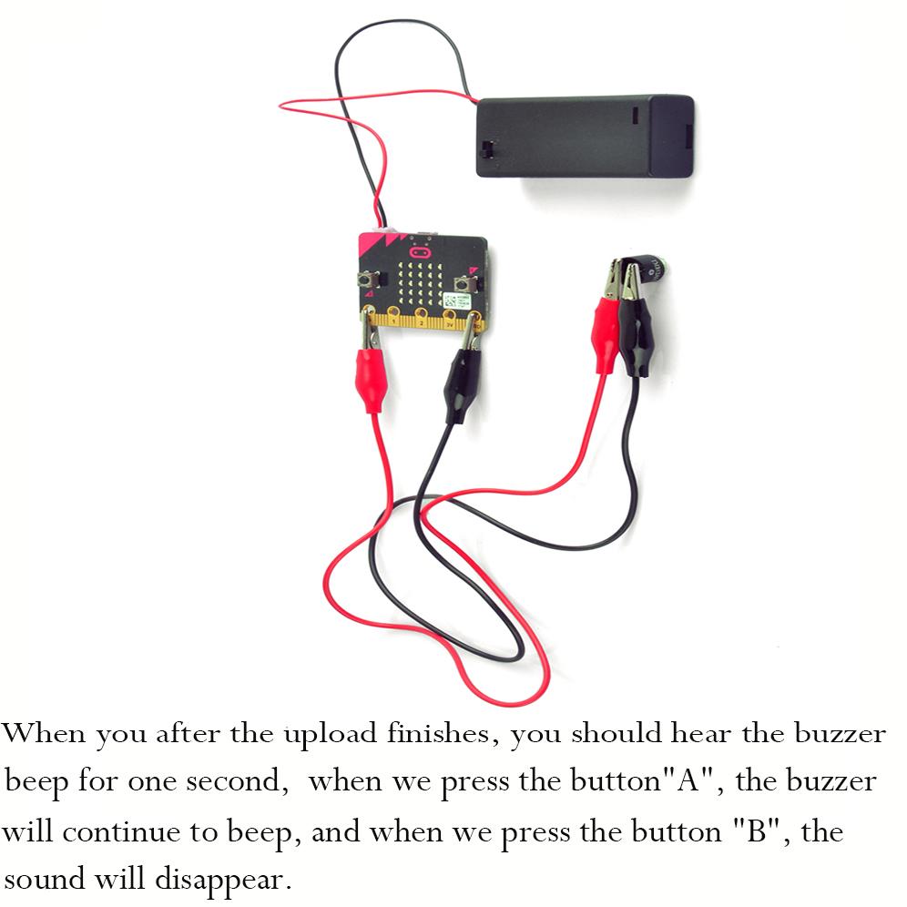 Micro bit lesson — Using the active buzzer « osoyoo com