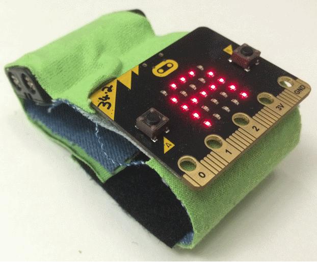 マイクロビット基本チュートリアル11  -財布をつくる