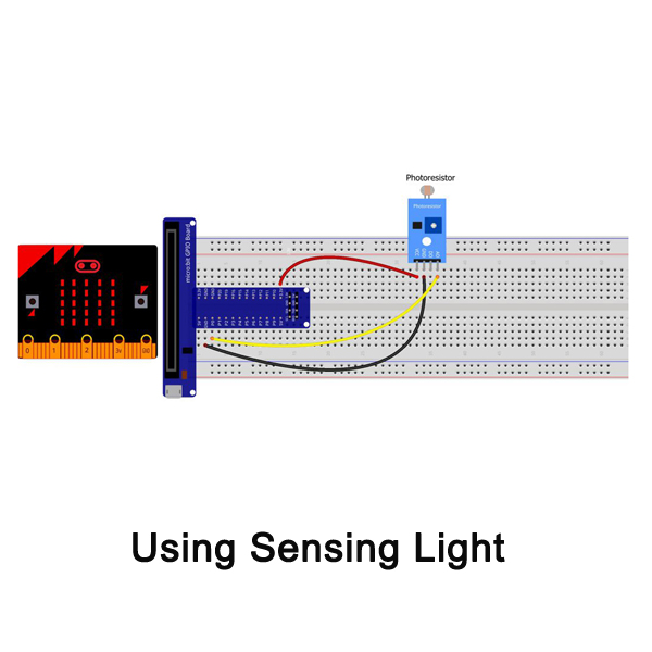 Micro bit lesson — Sensing Light