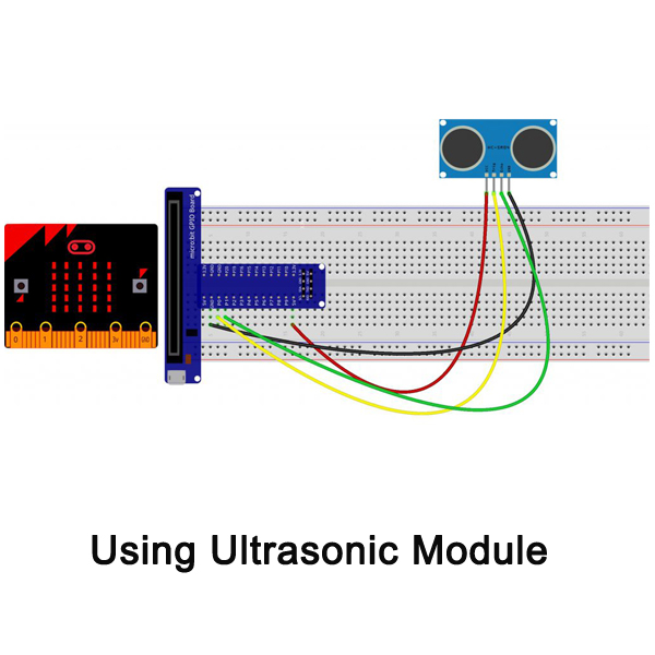 Micro bit lesson — Using the Ultrasonic Module