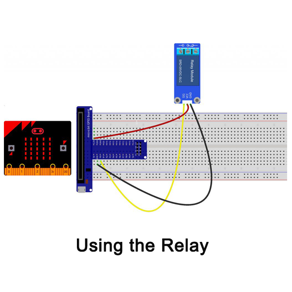 Micro bit lesson — Using the Relay