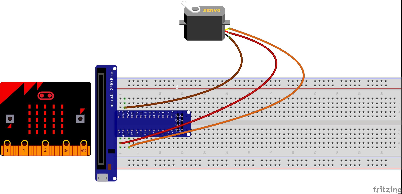 micro bit lesson using a servo motor. Black Bedroom Furniture Sets. Home Design Ideas