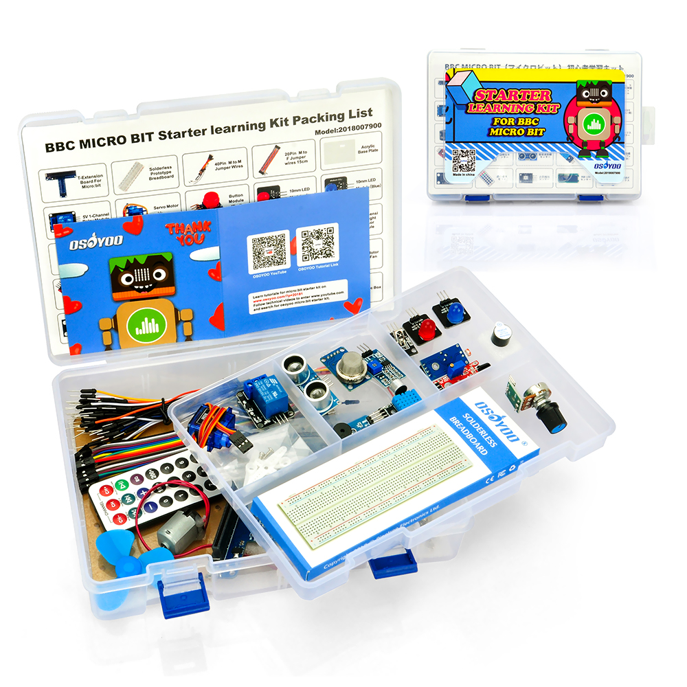 OSOYOO Starter Learning Kit for BBC Micro Bit
