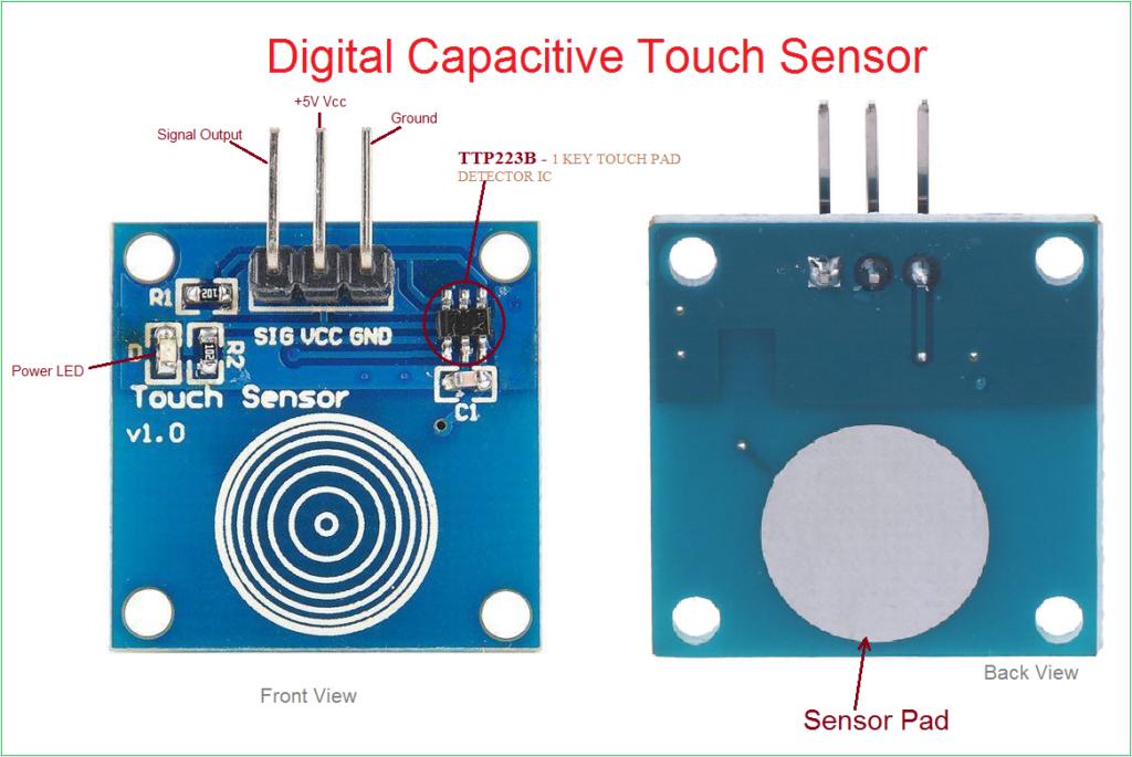 Arduino lesson – Digital Touch Sensor Module « osoyoo com