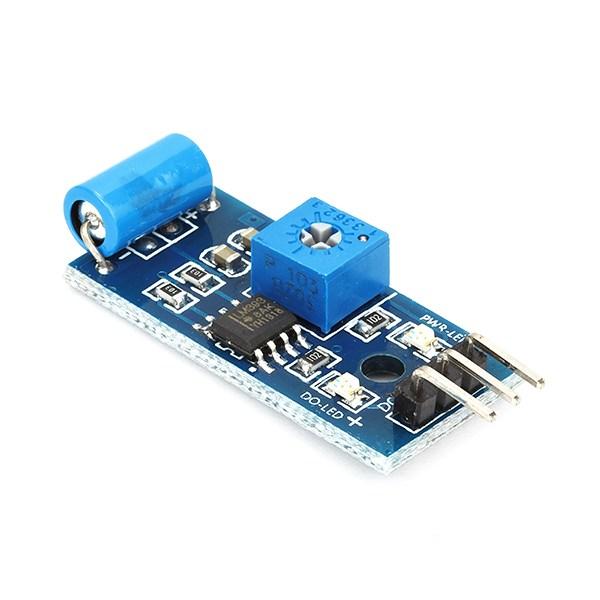 Arduino lesson – Vibration Sensor Module