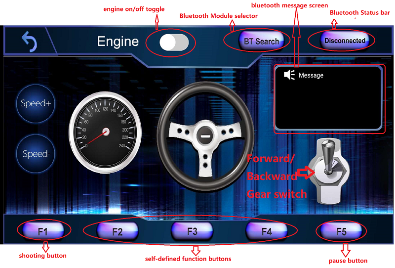 Osoyoo V2 Robot Car Lesson 7: Imitation Driving with Bluetooth APP